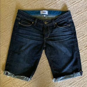 Paige denim shorts